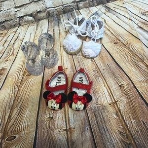 Baby girl 0-3 months shoes